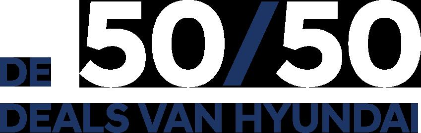 De 50/50 deals van Hyundai